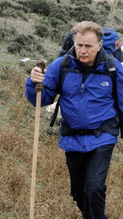 Der Weg ist das Ziel: Martin Sheen als Jakobspilger  | Foto: Koch Media