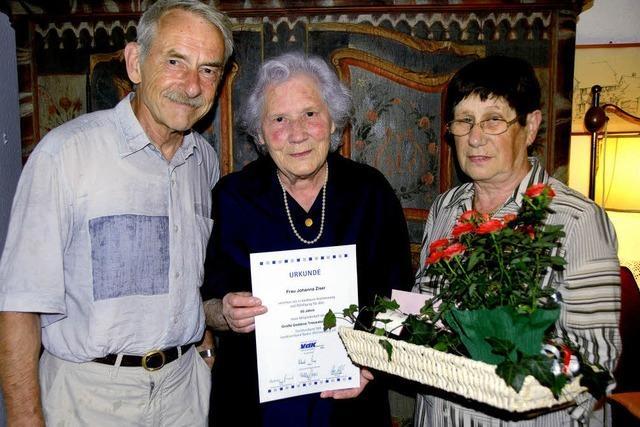 VdK-Auszeichnung für Johanna Ziser