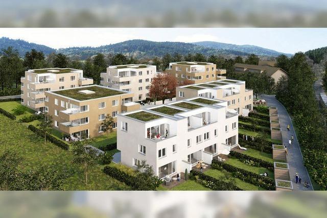 Neubebauung mit insgesamt 50 Wohneinheiten
