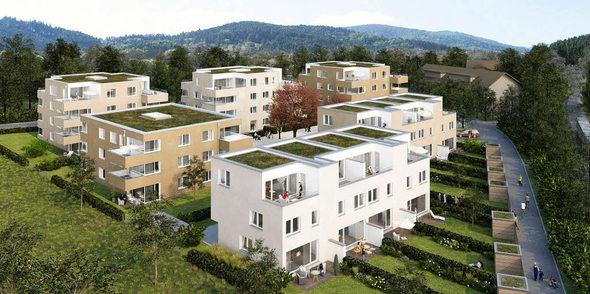 kirchzarten neubebauung mit insgesamt 50 wohneinheiten badische