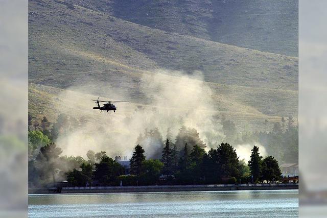 Taliban überfallen Hotel nahe Kabul