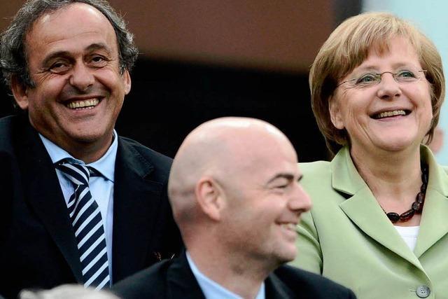 Michel Platini: Blatters umstrittener Kronprinz