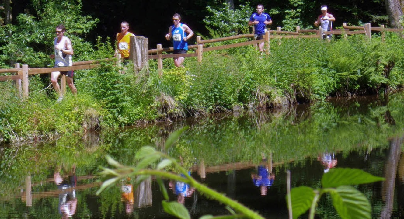 Anstrengung in atemberaubender Natur &...im X-Trail-Run in der Ravennaschlucht.  | Foto: Murst