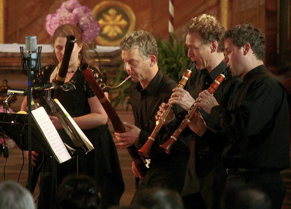 Die Kammersolisten Zug wurden fast aus...ord und Höllenfahrt mehr als gerecht.   | Foto: Sandra Decoux-Kone