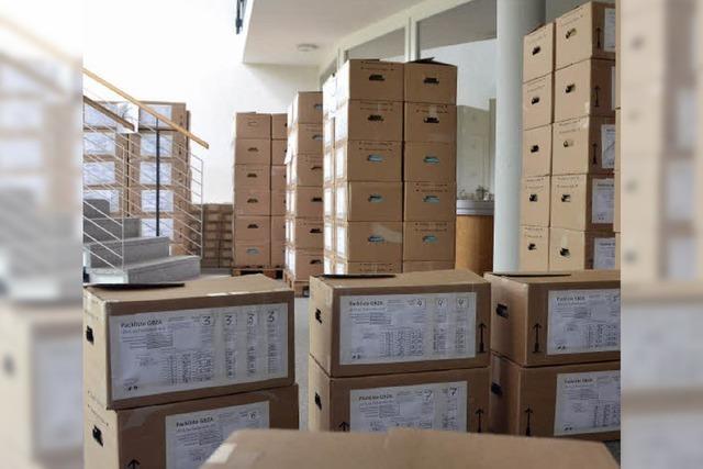 13 000 Euro für neue Lagertechnik