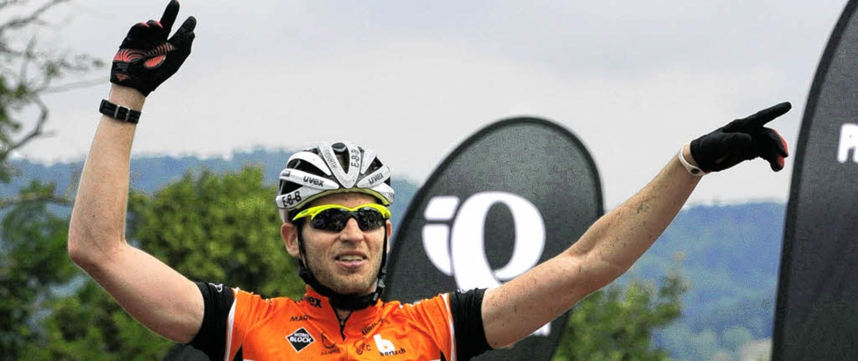 In Topform: Matthias Bettinger eilt de...seinem Mountainbike von Sieg zu Sieg.   | Foto: Patrick Seeger