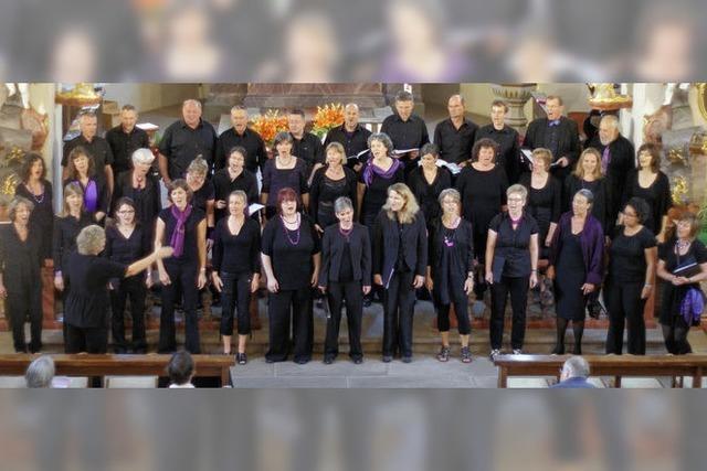Herzerfrischende Sangesfreude steckt Zuhörer an