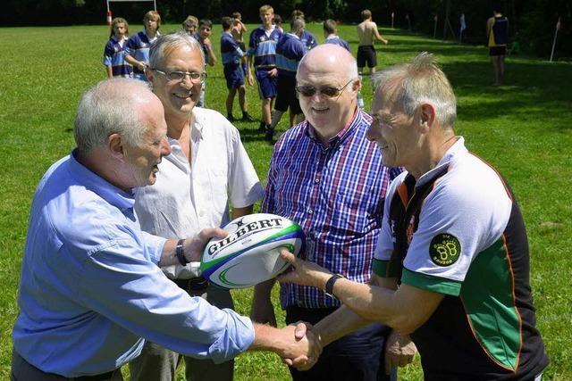Eine Kleinanzeige brachte den Rugby-Ball im Breisgau ins Rollen