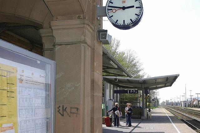 Bahnhof erhält mehr Licht