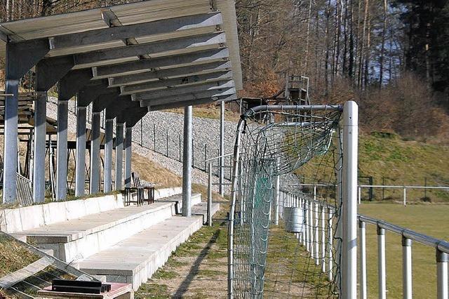 Der SV Karsau läuft sich fürs neue Sportheim warm