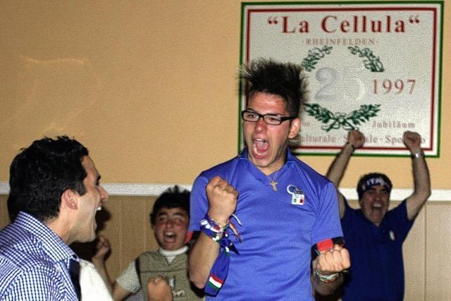 Bei Fußball schlagen italienische Herzen höher