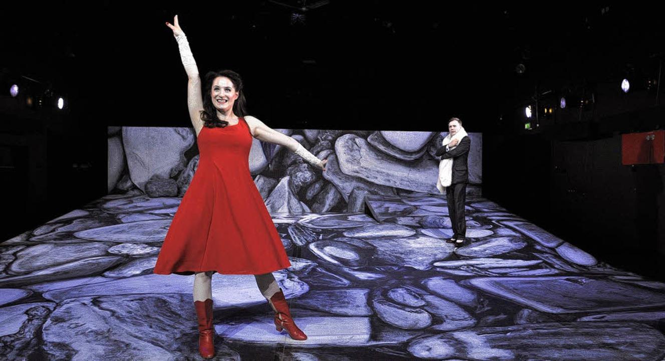 Nationaltheater Mannheim: Kushner Mini...it Michaela Klamminger und Sven Prietz  | Foto: Christian Kleiner