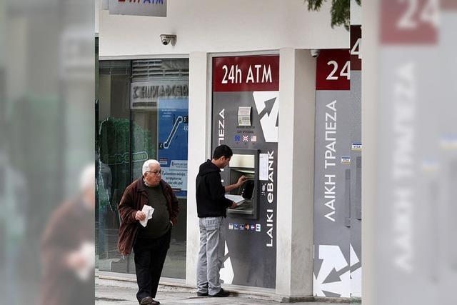 Auch Zypern ruft nach Hilfe