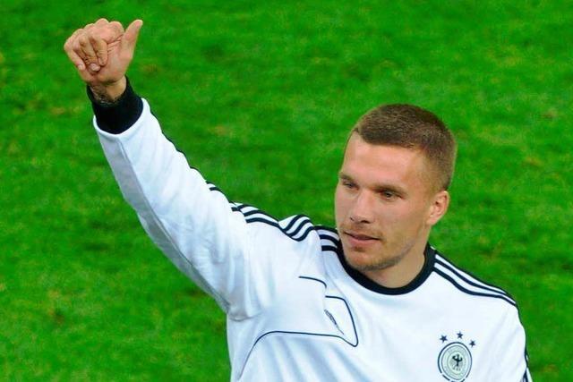 Lukas Podolski: Ich will den Titel