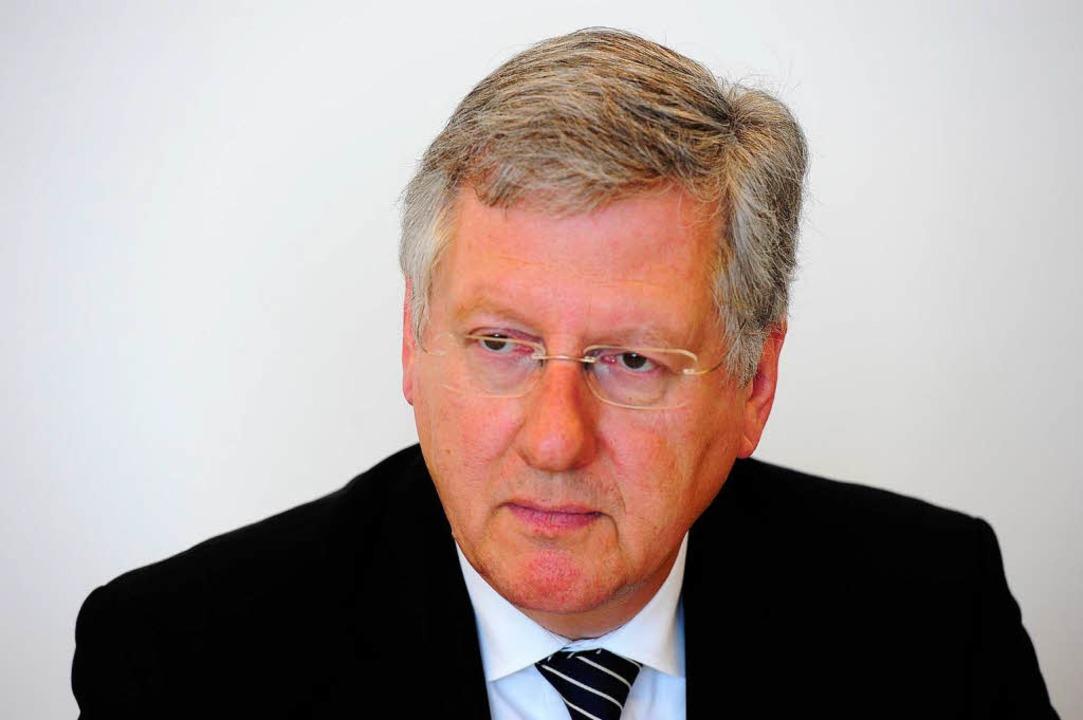 Freiburgs Unirektor  Hans-Jochen Schiewer  | Foto: Ingo Schneider