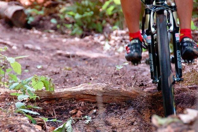 Freie Bahn für die Mountainbike-Arena