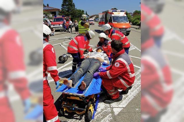 Landeswettbewerb: Badisches Rotes Kreuz kürt seine besten Helfer
