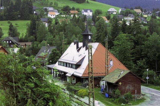 Bahn verkauft den Bahnhof Bärental