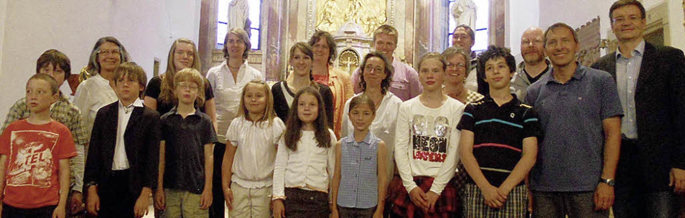Erleichtert waren die Akteure nach dem...hen Zentrum in der St. Gallus-Kirche.   | Foto: Janine Brunner