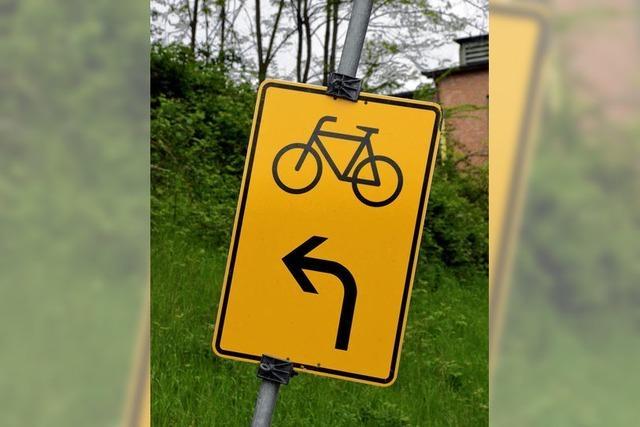 Radwegebau im Kreis geht weiter