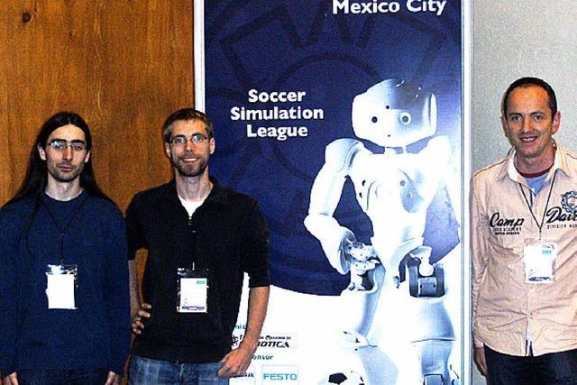 Offenburger Roboter im WM-Halbfinale in Mexiko