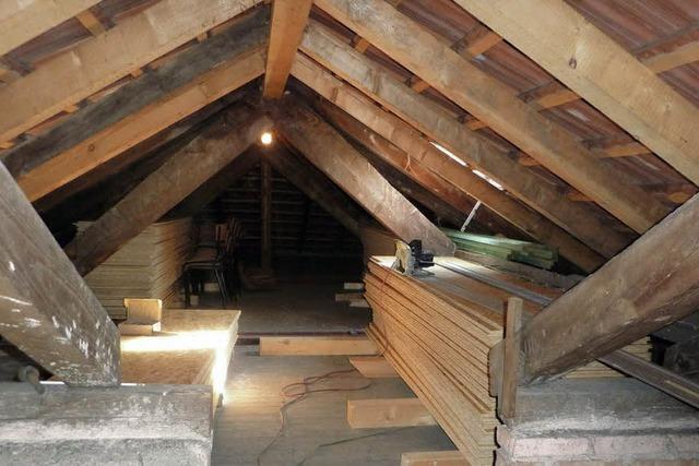 Arbeiten unterm Dach