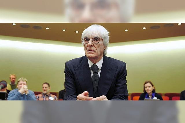 Hartes Urteil gegen Topbanker, viele Vorwürfe gegen Formel-1-Boss