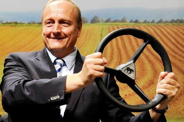 Bauernverband: Neuer Präsident, alte Richtung