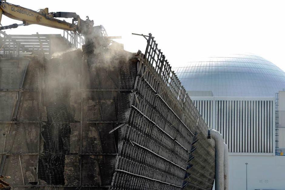 Die Meiler in Philippsburg und Neckarwestheim waren im vergangenen Jahr nach der Atomkatastrophe von Fukushima stillgelegt worden. (Foto: AFP)