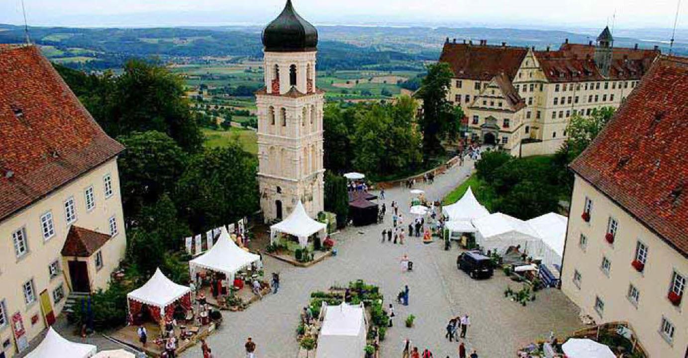 Der Ort für Stipendiaten: Schloss Heiligenberg  | Foto: südkurier