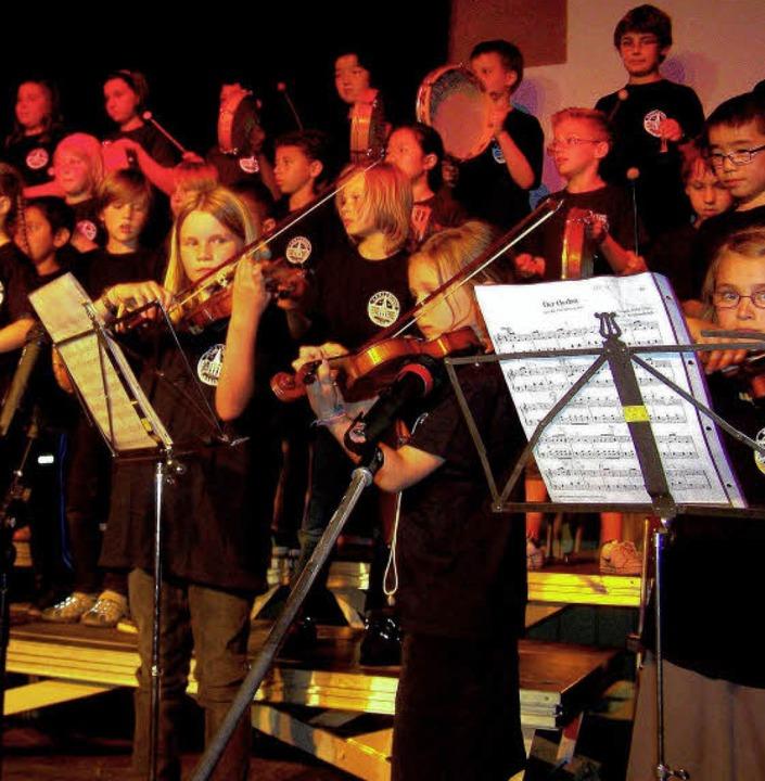 Die Schüler der Karlschule  hatten Vivaldi im Programm.    Foto: Hans Sigmund