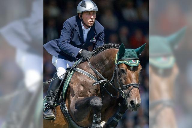 Hansi Dreher reitet in Global Champions Tour