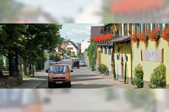 Die Schlossbergstraße wird saniert
