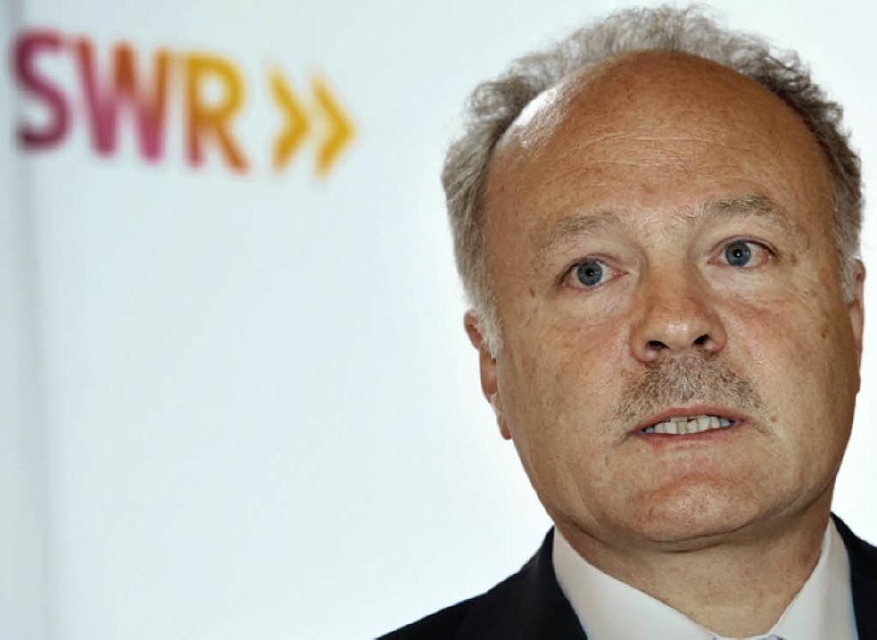Befürworter der Fusionspläne: Intendant Peter Boudgoust   | Foto: dapd