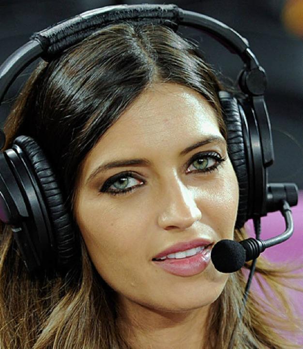 Spielerfrau und Reporterin: Sara Carbonero   | Foto: dapd