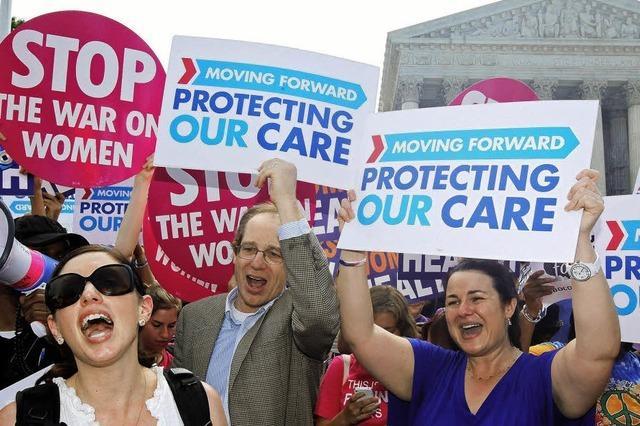 Oberstes Gericht bestätigt Obamas Gesundheitsreform