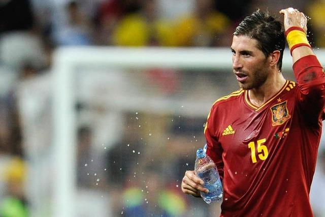 Sergio Ramos: Haare runter, Leistung rauf