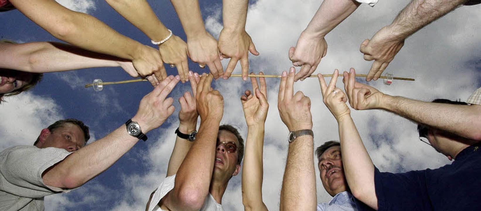 In funktionierenden Teams weiß jeder u...ine Stärken bestmöglich einzubringen.   | Foto: Uwe Tittel /nordpool/ddp