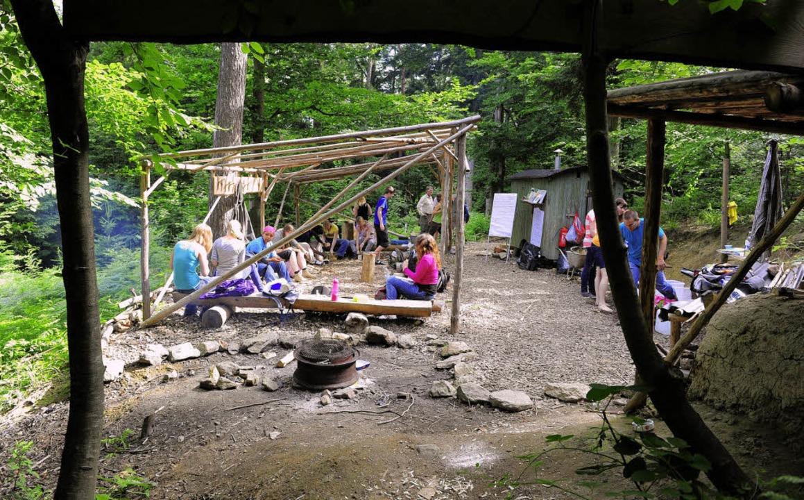 Naturnahes Erziehen in Kitas boomt. An... praktische Erfahrungen im Sternwald.     Foto: Ingo Schneider