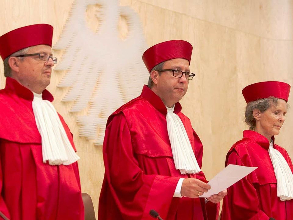 Das Bundesverfassungsgericht bekommt viel zu tun.   | Foto: dpa