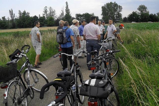 Mit dem Rad auf Infotour