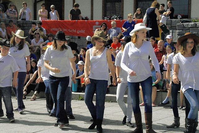 Das Festival der Jugend verbreitete viel Spaß und gute Laune