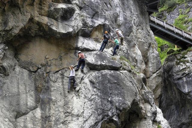 Zwischen Felswänden und prächtiger Blasmusik