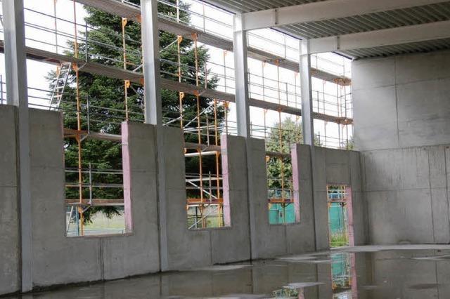 Sporthalle als Weihnachtsgeschenk