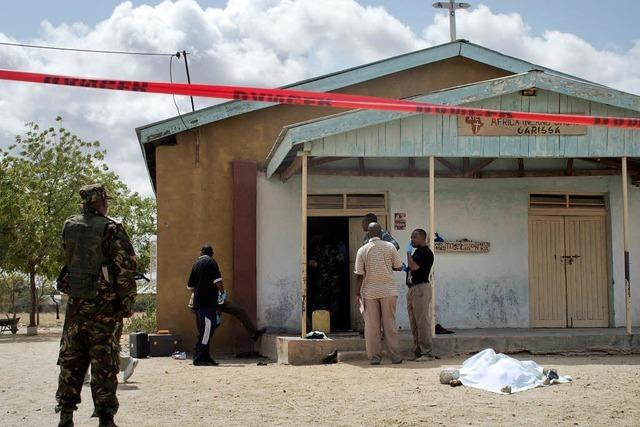 Terroristen töten Christen in Kenia