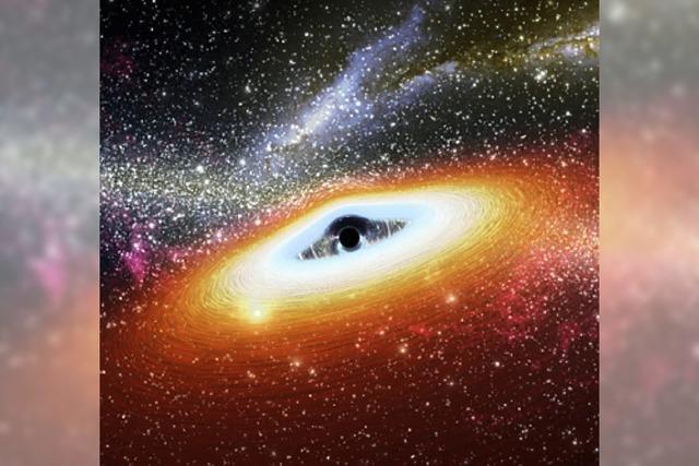 OBJEKT DES TAGES: Das schwarze Loch