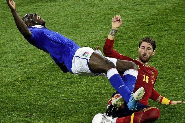 Spielerische Demütigung für Italien