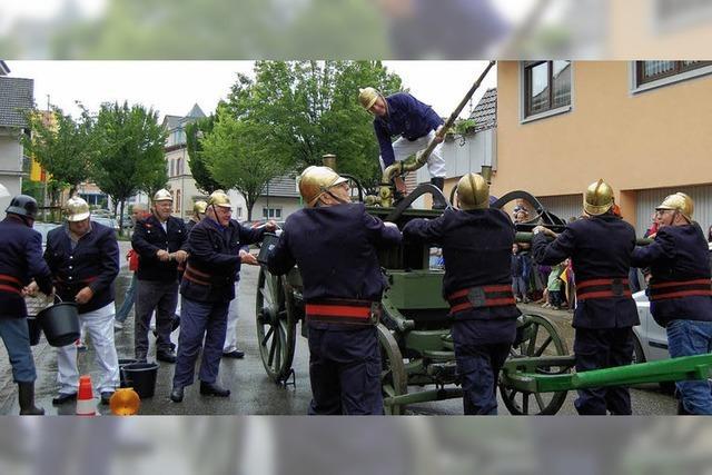 Feuerwehrarbeit ist eine Schau wert