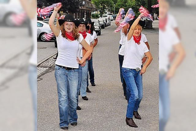 Linedance und Cowboyhüte
