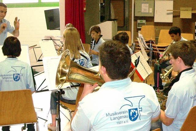 Blasmusik mit neuer Dirigentin